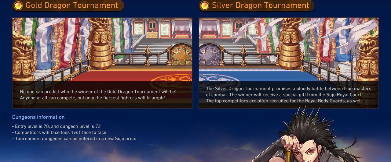 Gold Dragon Tournament / Silver Dragon Tournament