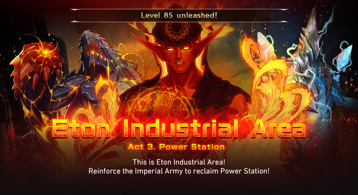 Level 85 unleashed! Eton Industrial Area, Act 3. Power Station