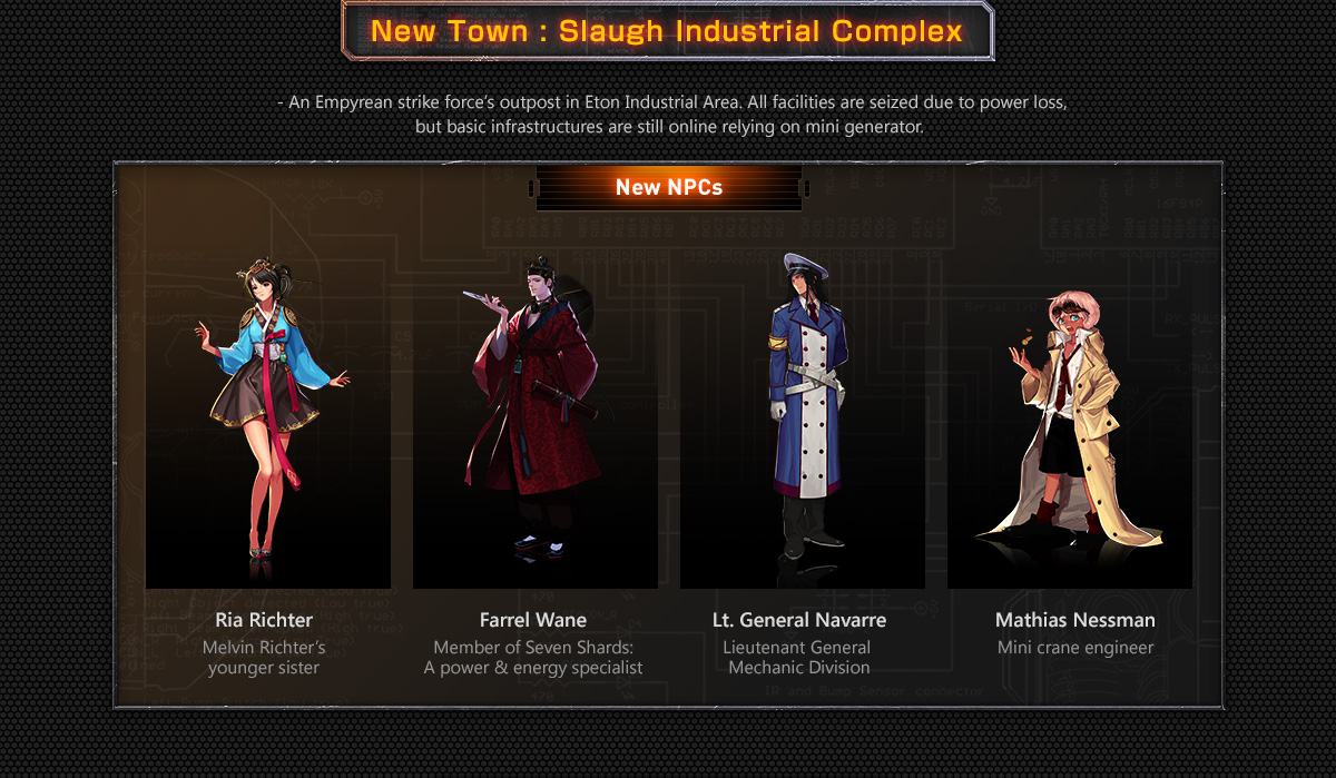 New Town : Slaugh Industrial Complex