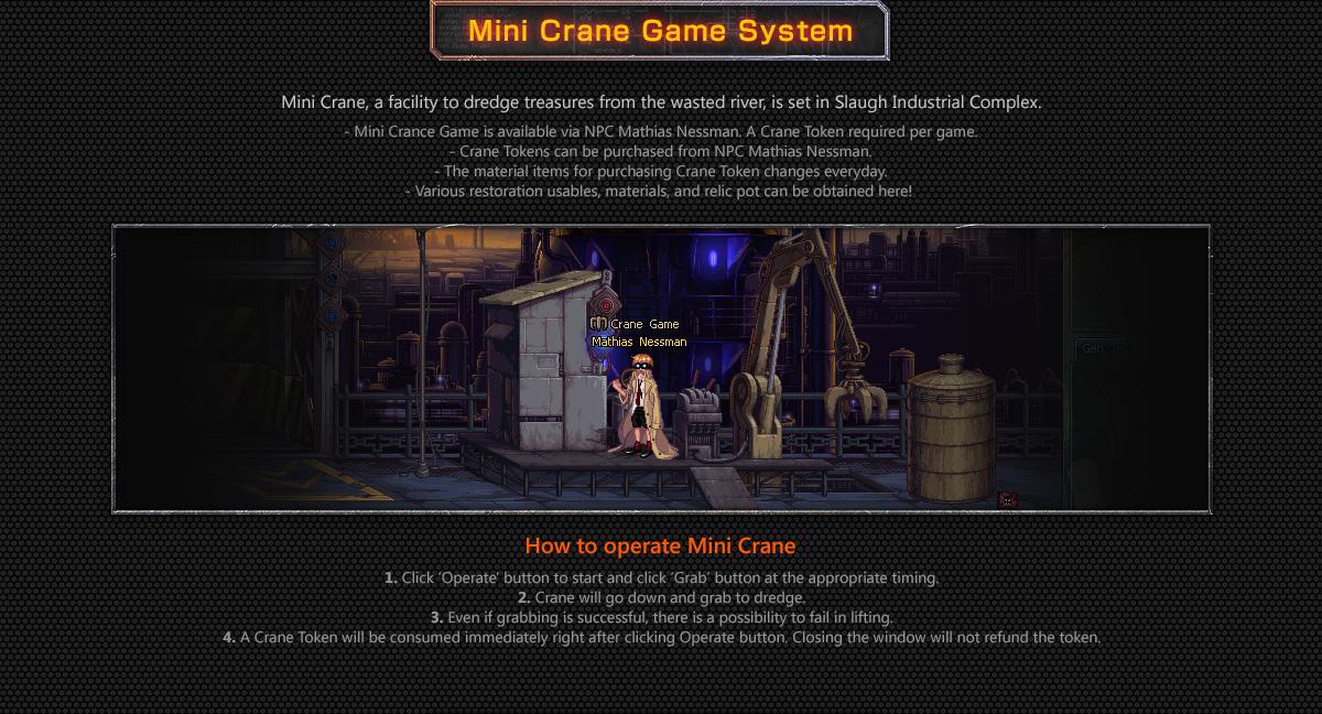 Mini Crane Game System