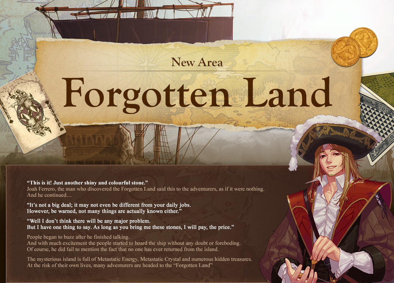 New Area Forgotten Land