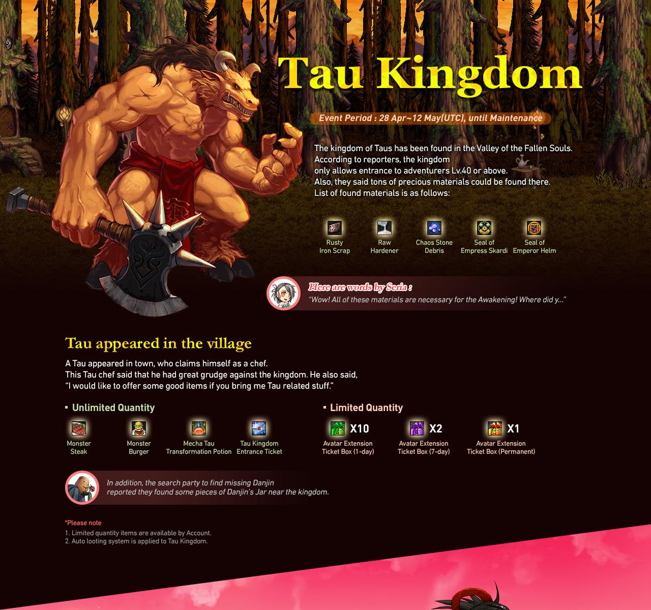 Tau Kingdom