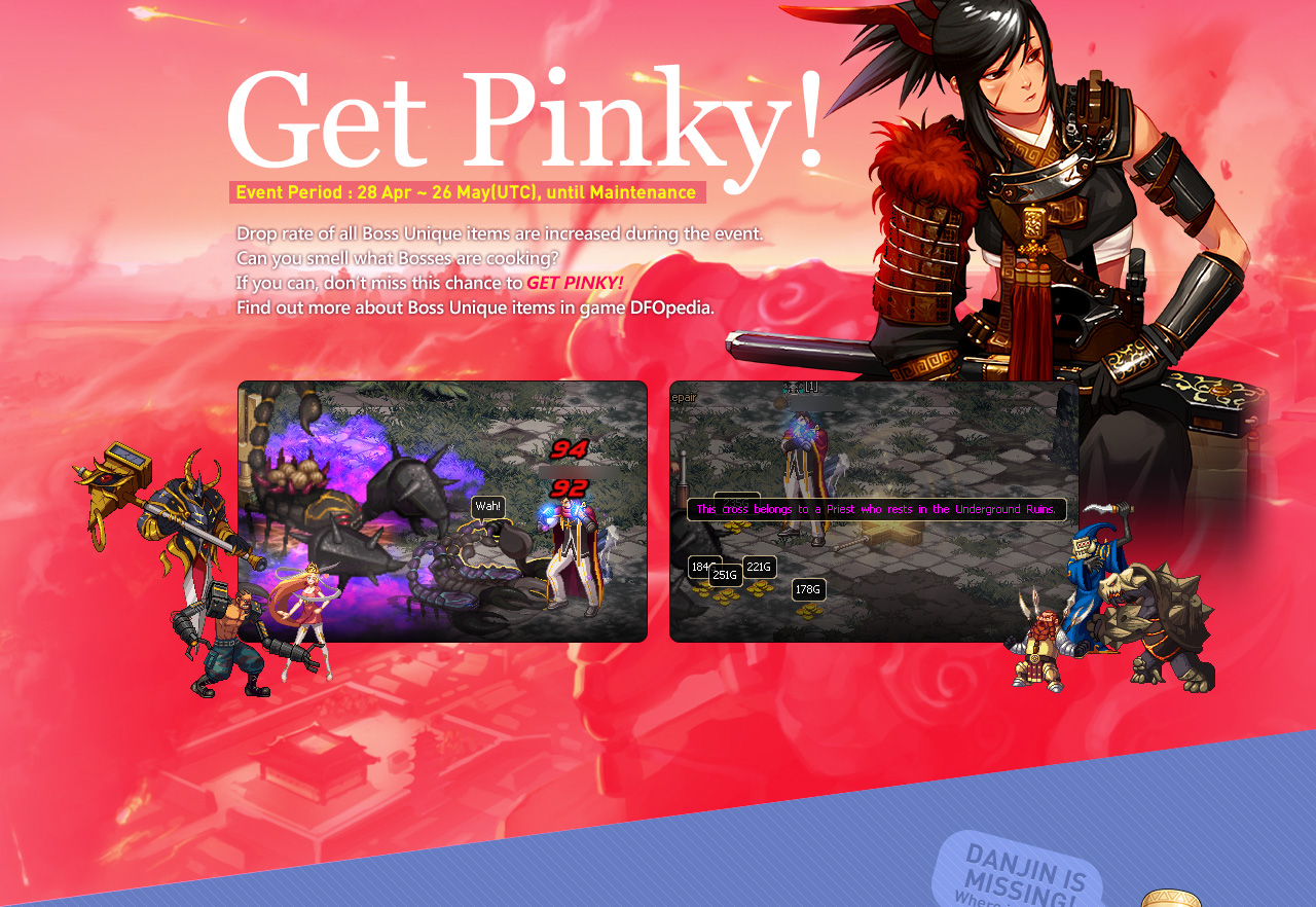 Get Pinky!