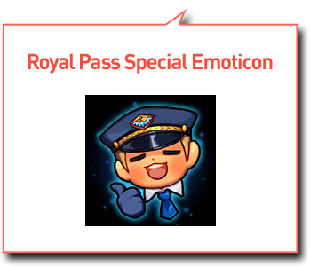 Royal Pass Special Emoticon Layer