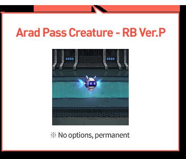Arad pass Creture - RB Ver.P Layer