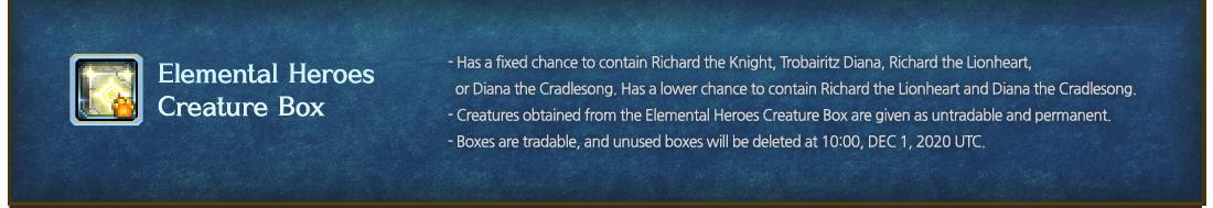 Elemental Heroes Creature Box