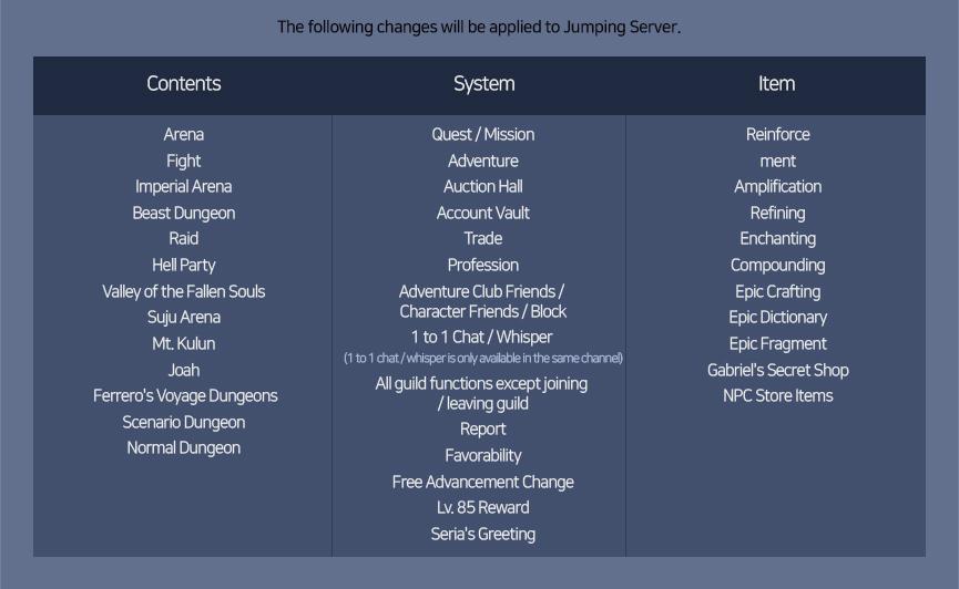Fantastic Jumping Server | Dungeon Fighter Online