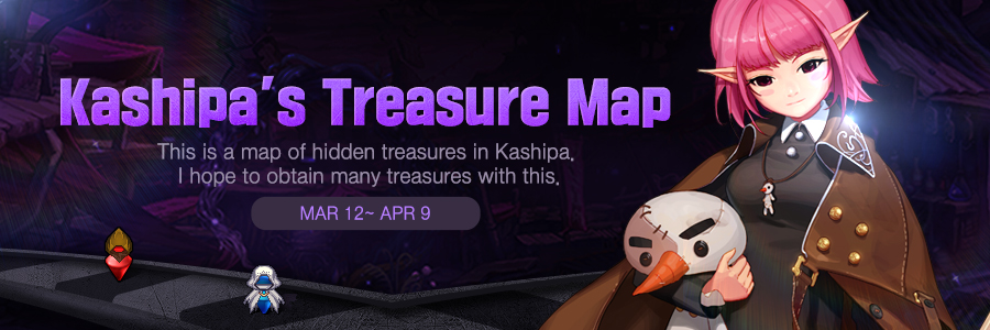 Kashipa's Treasure Map | Dungeon Fighter Online on